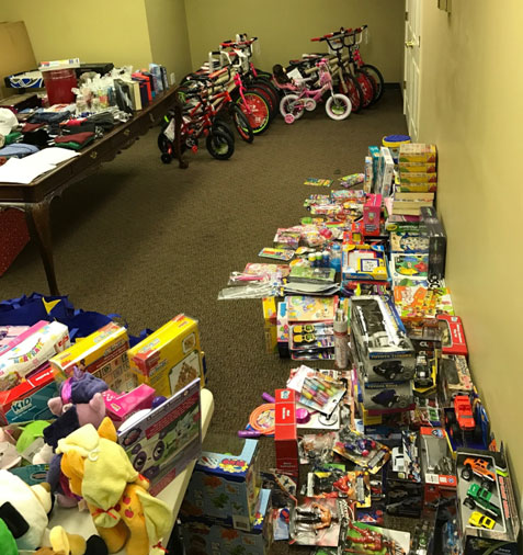 2016 Chimney Drop Toy Drive Featured